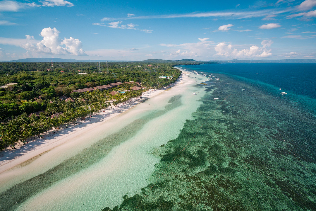 Dumaluan beach from above